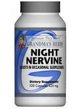 Grandma's Herbs's Night Nervine Review