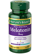 Nature's Bounty Dual Spectrum Melatonin Review