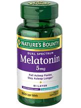 Nature's Bounty Dual Spectrum Melatonin Review