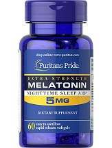 Puritan's Pride Extra Strength Melatonin Review